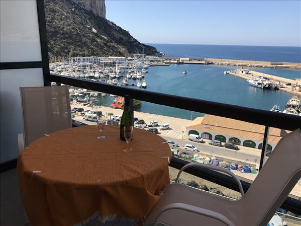 Location in Calpe